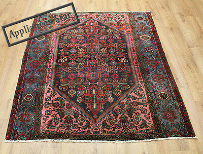 OLD WOOL HAND MADE PERSIAN ORIENTAL FLORAL RUNNER AREA RUG CARPET 170x135CM