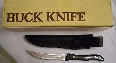 Vintage Buck 107 Scout Knife Never Used W/ Box