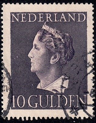 1946. NETHERLANDS. Sg619 10g VIOLET, VERY FINE USED CONDITION