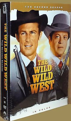 The Wild Wild West -- Complete 2nd Season, 7-Disc DVD Set, New & Factory-Sealed!