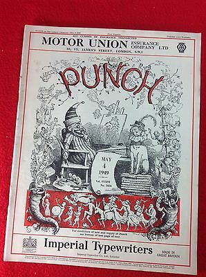 Vintage : PUNCH Magazine : 4th May 1949
