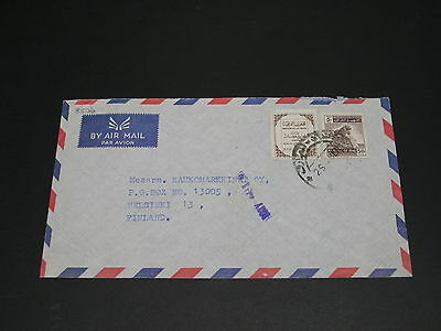 Iraq 1960s airmail cover to Finland *8506