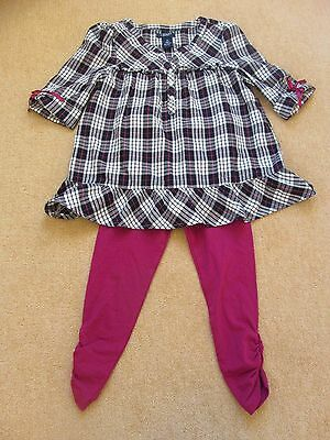 Chaps Pretty Girls Two-Piece Outfit Age 6