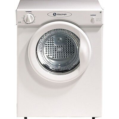 White Knight WK37AW Compact 3kg Tumble Dryer