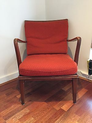 Stunning 50s/60s Retro Cocktail Chair - Antique Danish Armchair