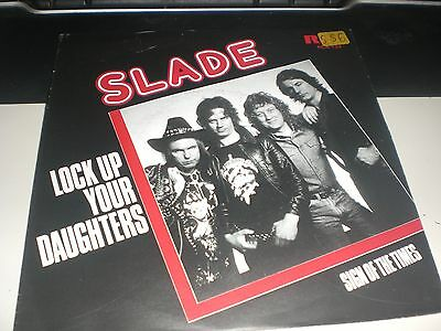 Single Slade - Lock Up Your Daughters - Rca Netherlands 1981 Vg+