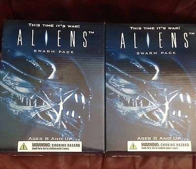 ALIENS Alien Swarm Pack 2004 Colonial Marines Figures Discontinued -RARE-