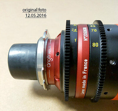 Angenieux Optimo DP Rouge 30-80mm T2.8 Zoom PL Mount 4K