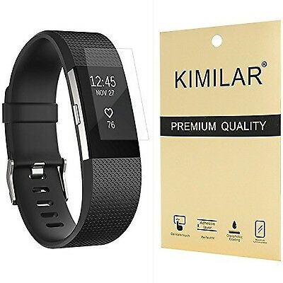 Fitbit Charge 2 Screen Protector (6-Pack) KIMILAR [NO-Peeling off] [Ful... [NEW]