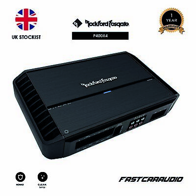 Rockford Fosgate Punch P400X4 - 400 Watt 4-Channel Amplifier