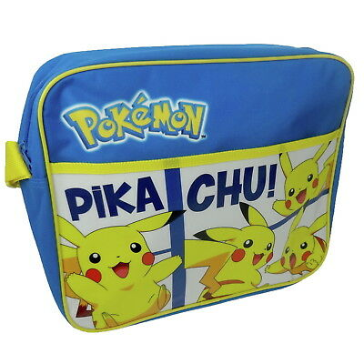 NEW OFFICIAL Pokémon Pikachu Boys Kids Messenger Satchel School Shoulder Bag