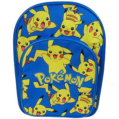 NEW OFFICIAL Pokémon Pikachu Boys / Kids Backpack / Rucksack / School Bag