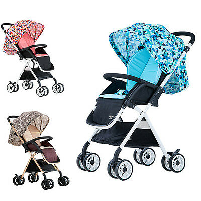 Popular Baby Stroller Lightweight Travel System Pushchair Newborn Carriage Pram
