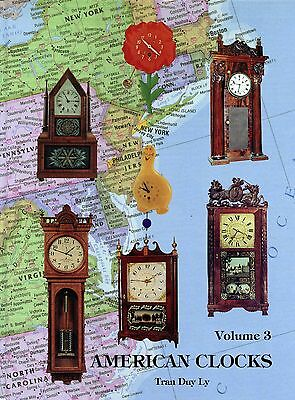 Antique American Clocks Identification - Styles Makers Models / Book + Values