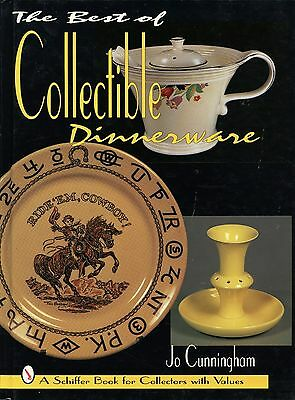 Dinnerware Pottery - Makers Patterns Marks Dates / Illustrated Book + Values