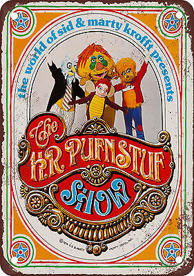 1970 The H.R. Pufnstuf Show Vintage Look Reproduction Metal Sign