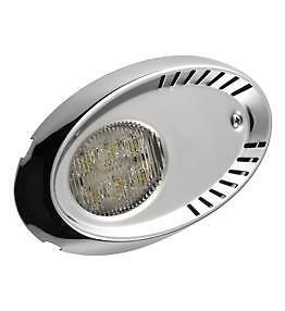 Attwood   6521Ss1   Led  Boat   Docking   Light   Pair,   Stainless   Steel