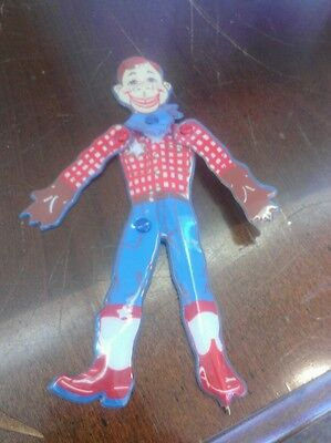 """Vintage 1988 6"""" Howdy Doody Posable Ink Pen by NBC & Leadworks Made in Japan"""