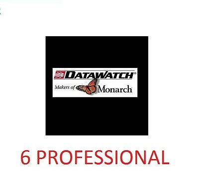 Datawatch Monarch 6 Professional Disc + License