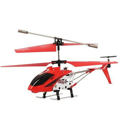 Cobra Rc Toys Helicopter - Skyline 3.5 Channel With Gyro - Red - W/ Warranty!