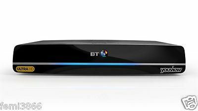 New Bt Youview Humax Dtr - T4000 4K Ultra Hd Box 1Tb