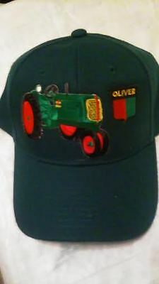Oliver  60 Or 70  Dark Green Tractor Hat