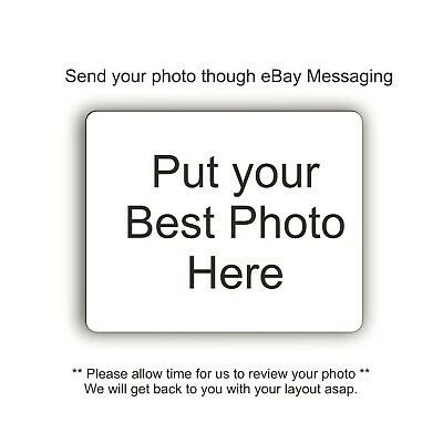 Custom Photo or Design Computer Mouse Pad Add Your Photo Own