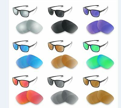 NEWPOLAR Replacement Lenses polarized for oakley enduro different colors