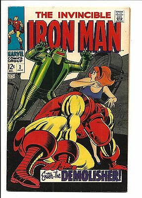 IRON MAN # 2 (Enter The DEMOLISHER, JUNE 1968), FN/VF