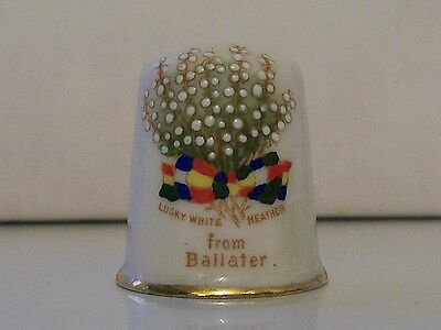 Arcadian Oversized Thimble (Lucky White Heather from Ballater)