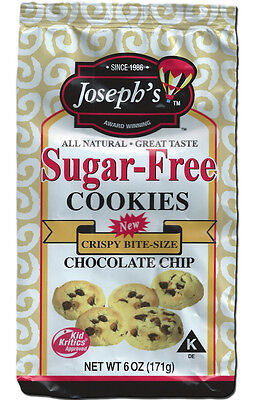 Joseph's Sugar Free Cookies Chocolate Chip, Low Carb, Low Fat