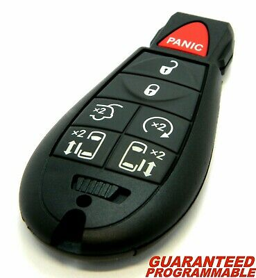 NEW 6BTN Keyless Entry Key Fob Remote CASE ONLY For a 2010 Dodge Grand Caravan