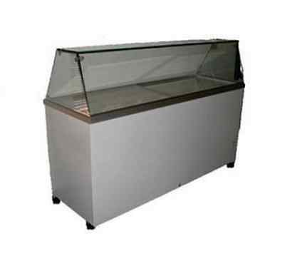 "Select Fcdc-70 70"" Ice Cream Dipping Display Cabinet 18.5 Cf 0° F- 38° F Gelato"