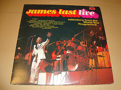 """JAMES LAST """"LIVE"""" Selection from the World Tour - 2LP set POLYDOR  / TOP AUDIO!"""