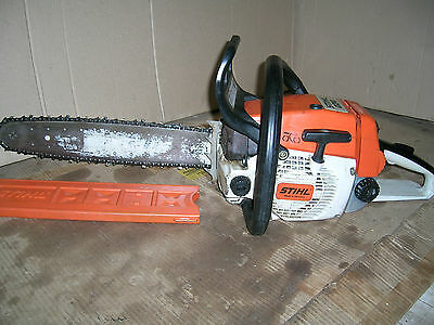 stihl 024 chainsaw working spares or repair