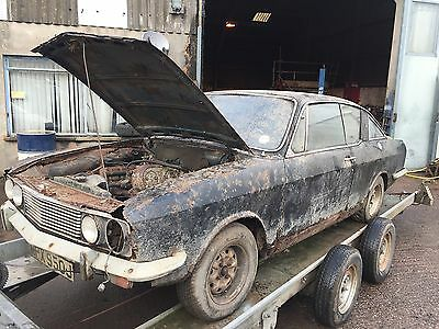 Sunbeam Rapier Fastback 1725 Twin Carb Coupe Barn Find