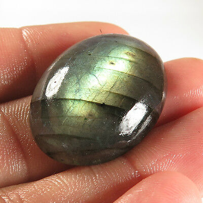Natural Charming LABRADORITE 30x22 mm OVAL CABOCHON  Gemstone 40.00 Cts Supplier