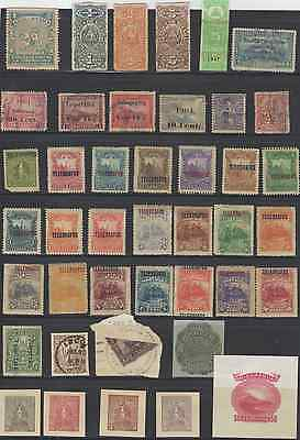 Stamps Nicaragua Back Of Book 42Pc Lot