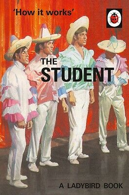 'How it Works' The Student A Ladybird Book (Adult) Spoof Parody Humour