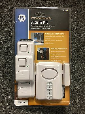 GE Personal Security Alarm Kit by GE 51107 FREE SHIPPING NEW SEALED!