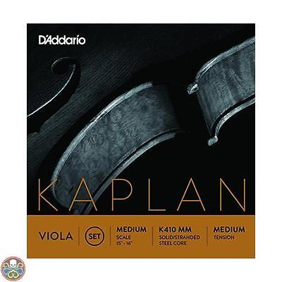 Daddario D Addario Kaplan Viola Corde Set Medium Scale Medium Tension Nuovo