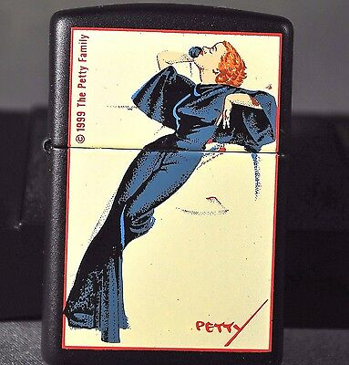 """Limited Edition Zippo Petty Girls Series Ii """"satin Doll"""" Lighter Never Used"""