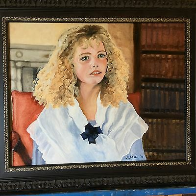 Original Oil Painting-Little Sister- 16X20 in.
