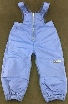 Patagonia Baby Toddler Snow Bibs Ski Pants Overalls Blue 18 Months