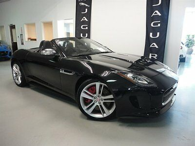 2015 Jaguar F-Type V8 S Convertible 2-Door V8S Performance Pack Premium Pack Extended Leather Vision Pack Climate Pack