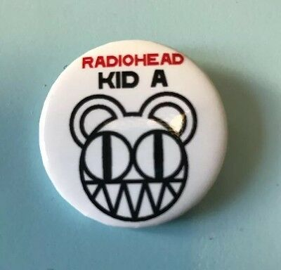Radiohead Kid A Button From Capitol Records 2000