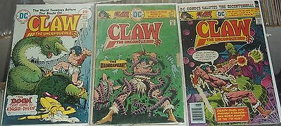 DC Comics Claw The Unconquered Lot # 2 3 8 Doom That Came Death Duel Bloodspear