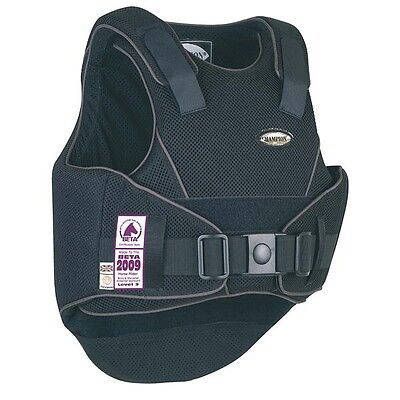***brand New Champion Flexair Body Protector Childs Xl Black/gunmetal Grey***