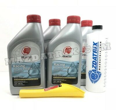 4 Quarts Idemitsu Premix, Bottle & Funnel Kit