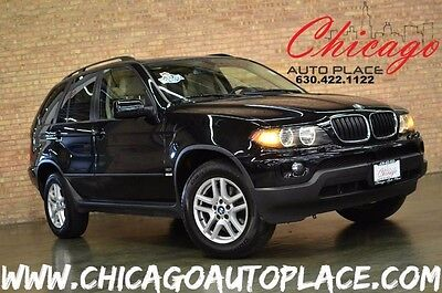 2005 BMW X5 3.0i Sport Utility 4-Door BMW X5 3.0i NAVI HEATED SEATS ONE OWNER LOW MILES PANO ROOF